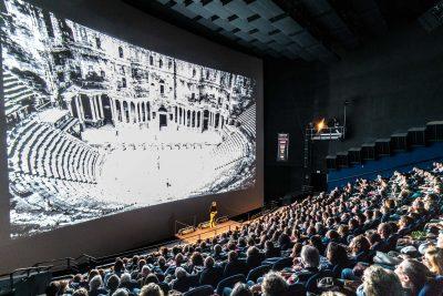 Lutz Jäkel im IMAX, Luzern
